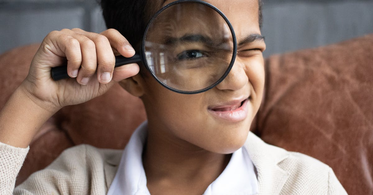 A close up of a person wearing glasses